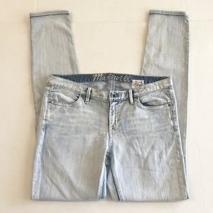 Madewell Skinny Jeans 37s Low Rise Light 31x32